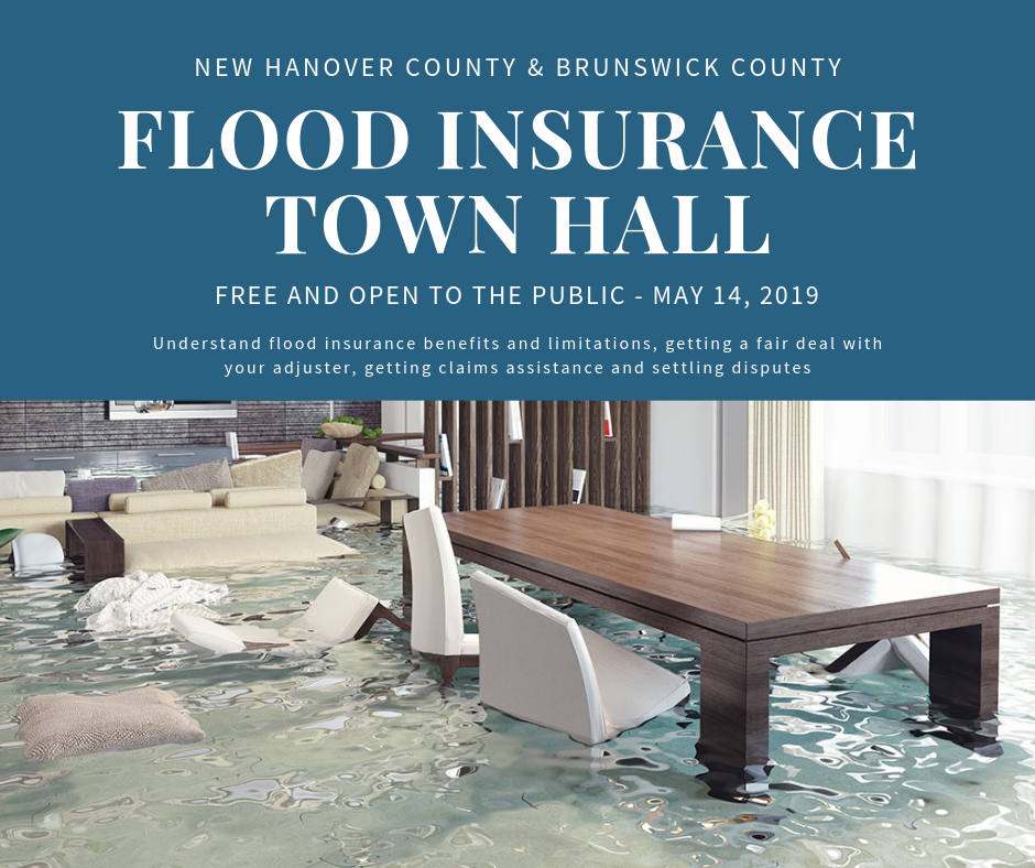 N.C. Department of Insurance to conduct disaster relief, flood insurance Town Halls on May 14, 2019
