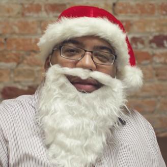 Around the Office Christmas Eve Festiveness