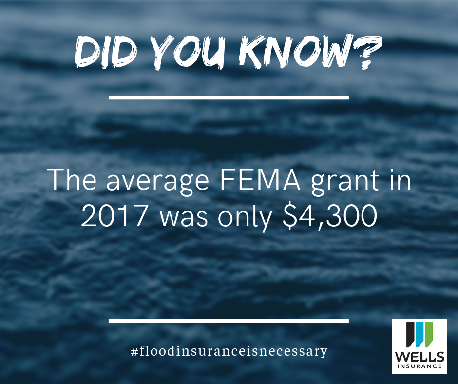 the average FEMA grant in 2017 was only $4,300