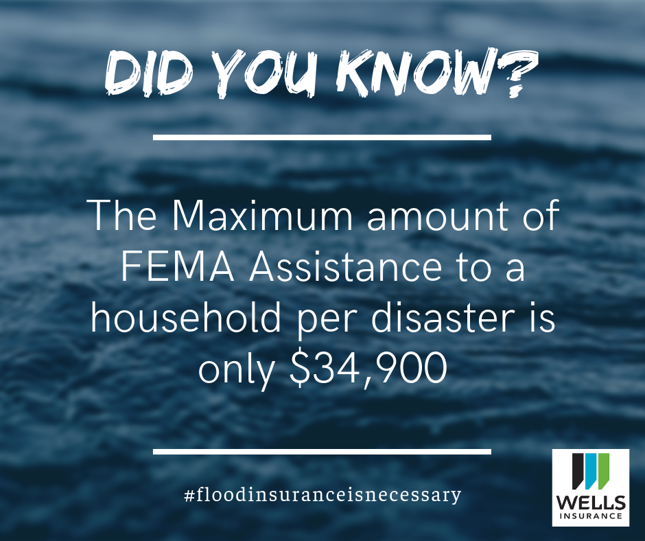 The maximum amount of FEMA assistance to a household per disaster is only $34,900