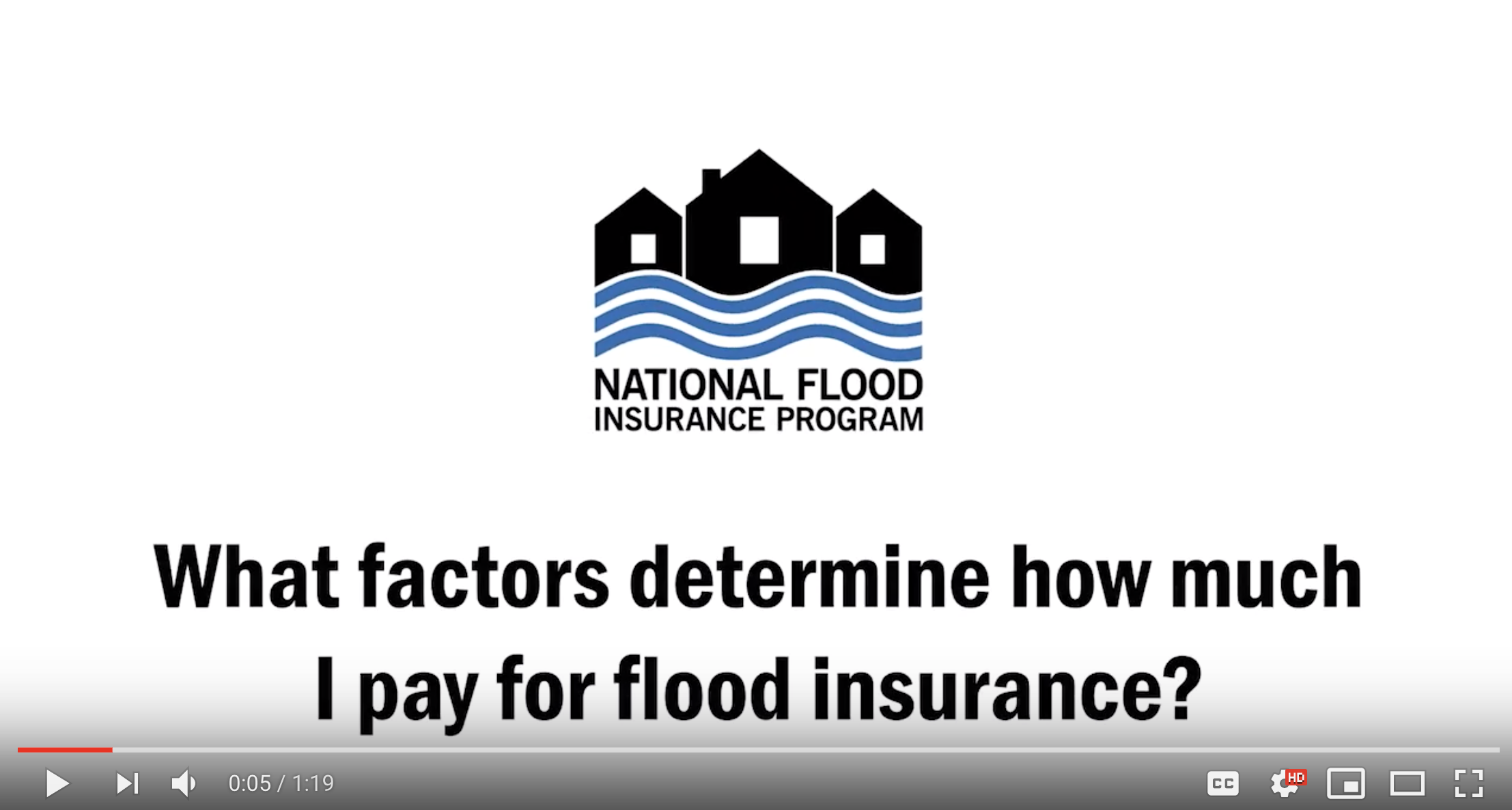 What factors determine how much you pay for flood insurance?