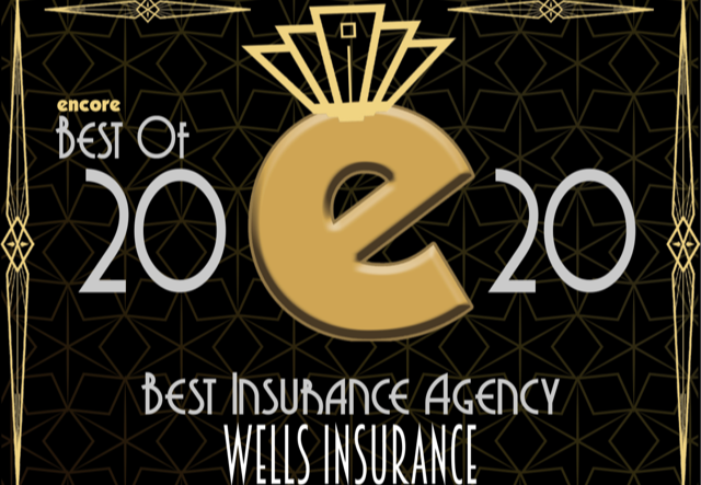 Wells Insurance Voted Best Insurance Agency in Wilmington 2020 by Readers of Encore Magazine