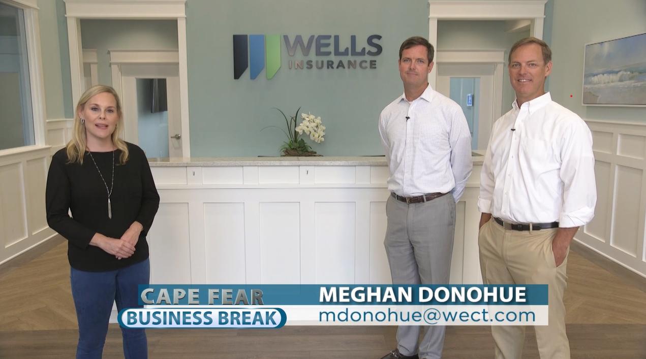 WECT Cape Fear Business Break – About Wells Insurance