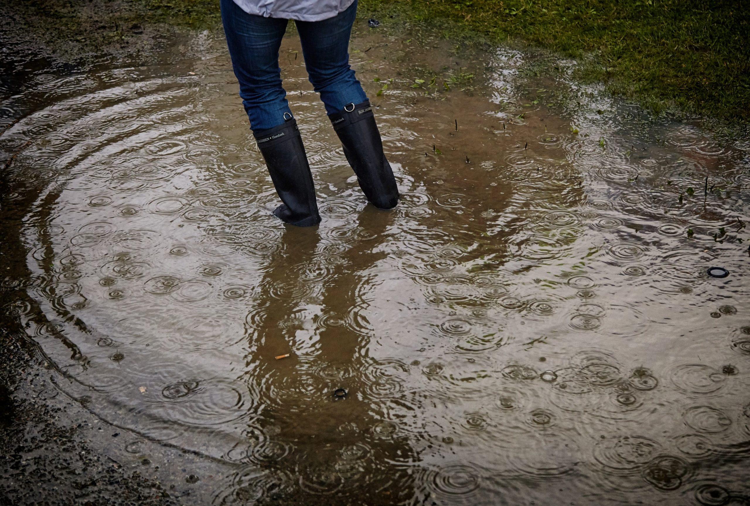 Where it Rains, it Floods