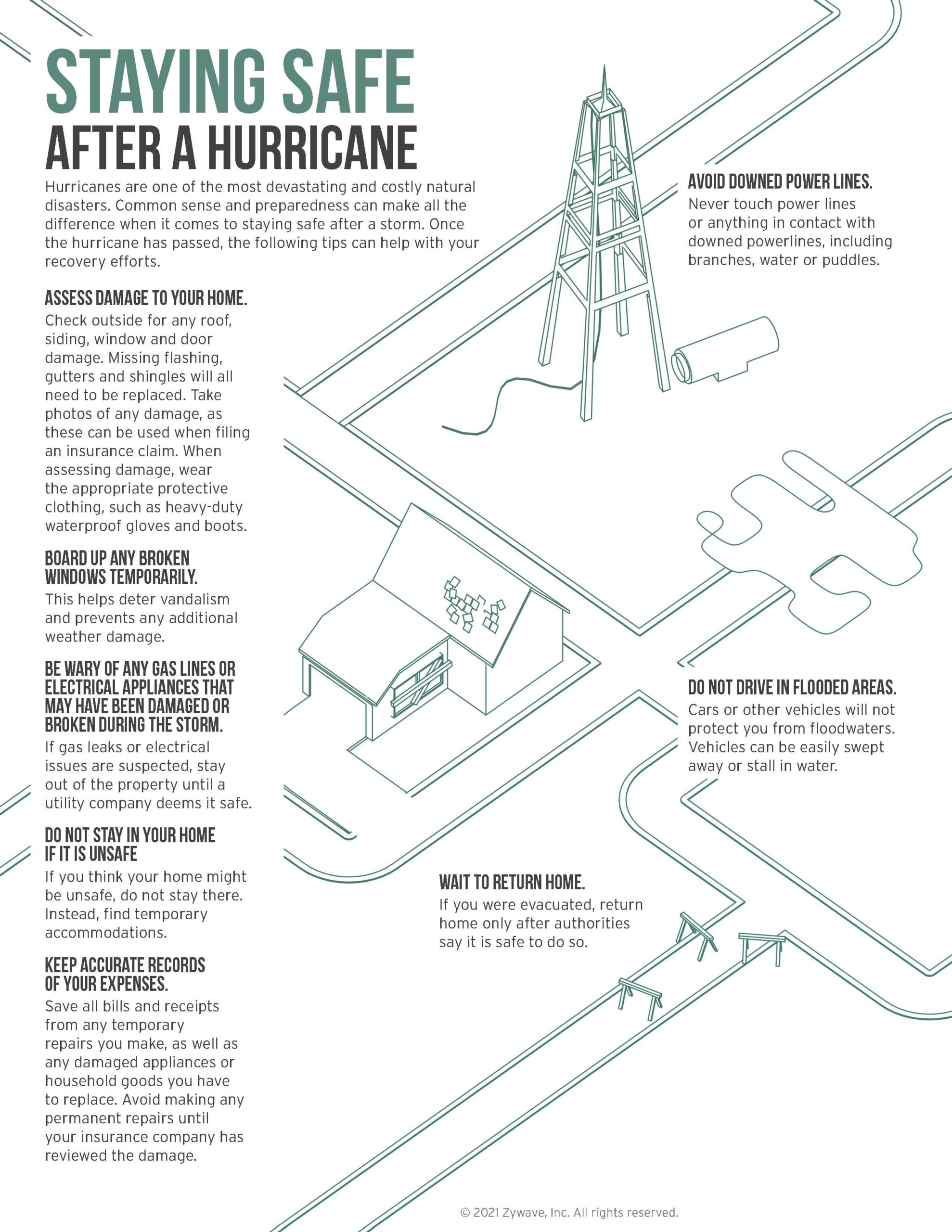 Staying Safe After a Hurricane