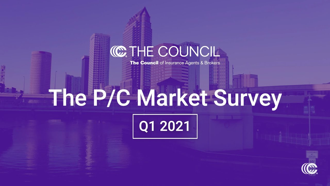 Property and Casualty Insurance Market Survey Q1 2021
